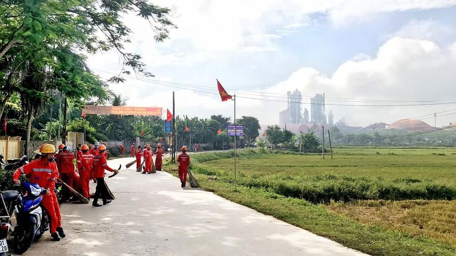 Những phần việc ý nghĩa của Đoàn thanh niên Công ty CP Xi măng Đô Lương