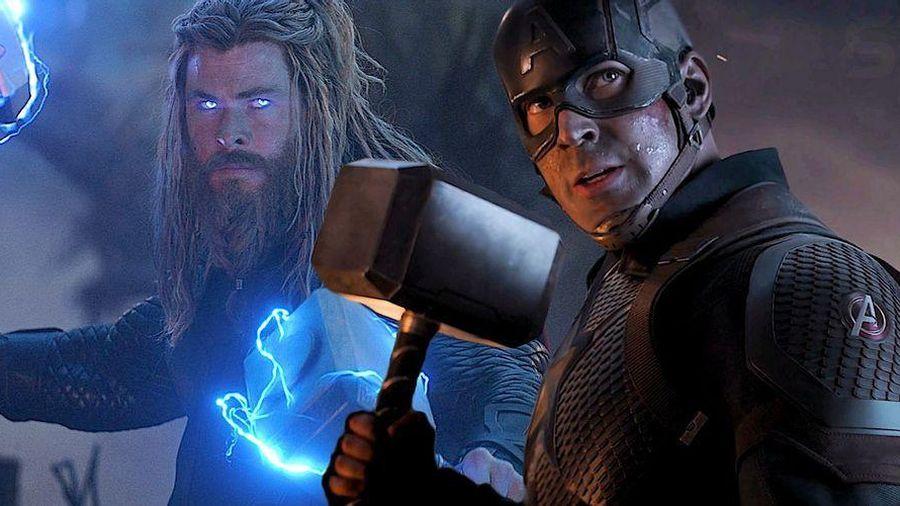 Captain America và Thor bắt Mjolnir theo cách rất khác biệt mà không ai để ý
