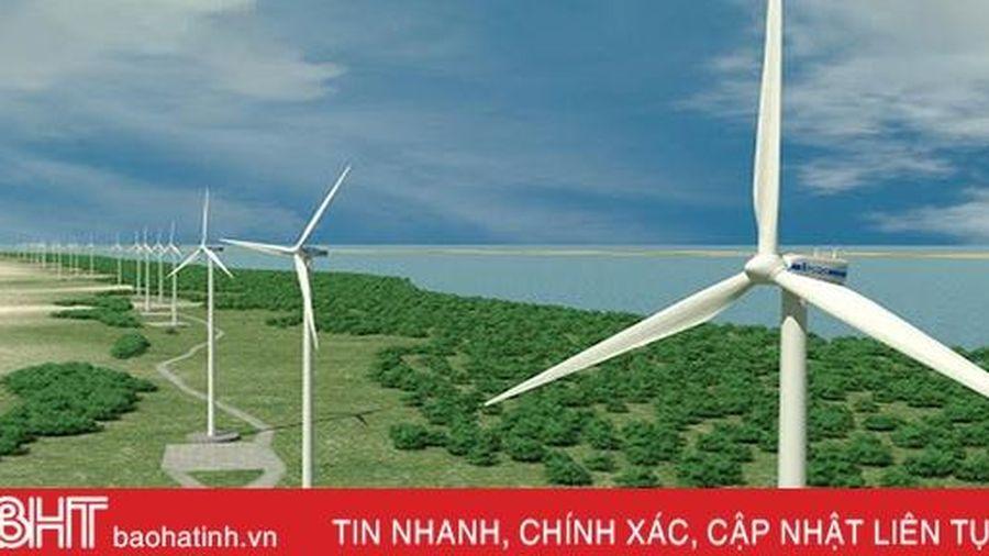 Hà Tĩnh chấp thuận chủ trương đầu tư dự án điện gió hơn 4.687 tỷ đồng