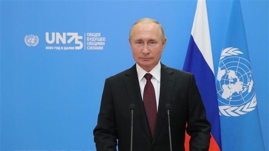 Tổng thống Nga khẳng định cuộc chiến với đại dịch còn lâu mới kết thúc
