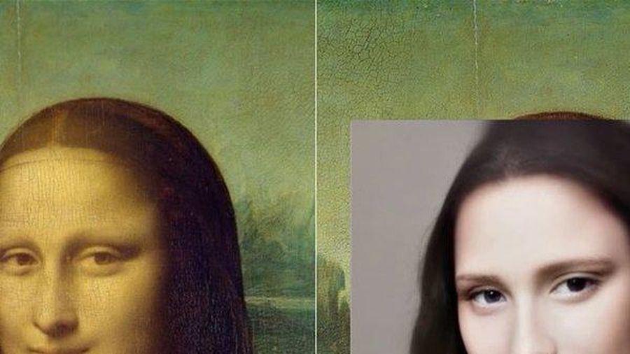 Clip: Kinh ngạc khuôn mặt các nhân vật trong những bức danh họa được AI tái tạo
