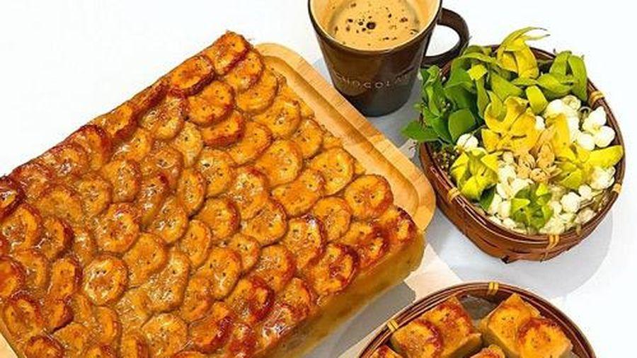 Cách làm bánh chuối nướng cốt dừa thơm ngon khó cưỡng