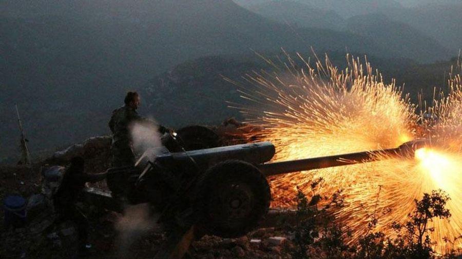 Quân đội Syria tấn công phiến quân thánh chiến ở vùng núi chiến lược