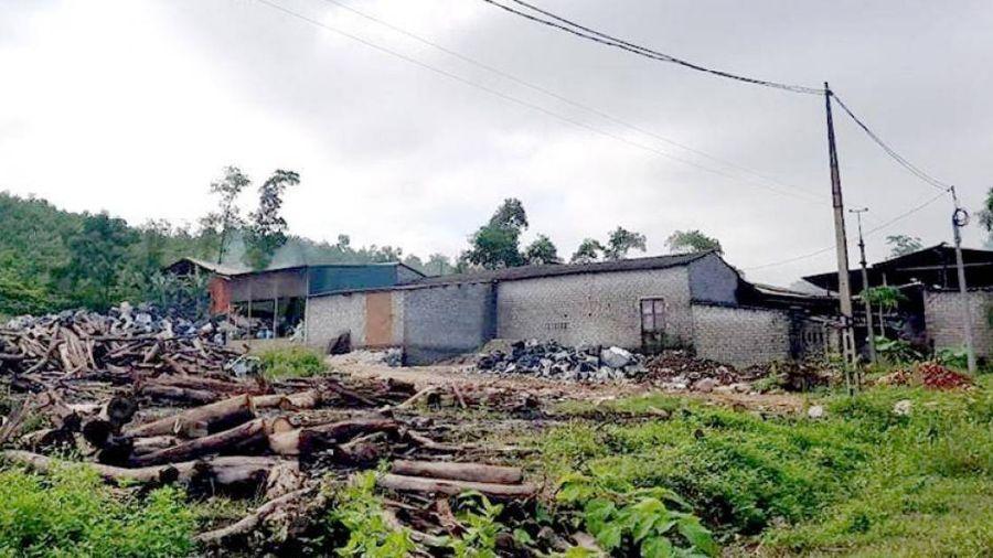 Thanh Hóa: Dân hứng ô nhiễm 5 năm từ xưởng than trái phép