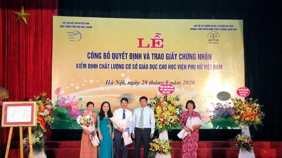 Học viện Phụ nữ Việt Nam: Chất lượng giáo dục khẳng định vị thế và uy tín