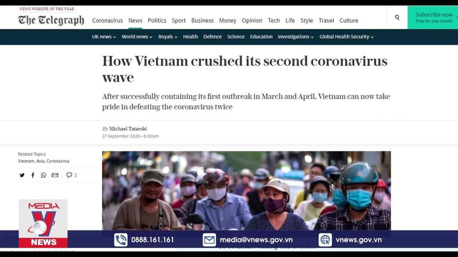 Lý giải yếu tố giúp Việt Nam chiến thắng COVID-19 lần thứ 2