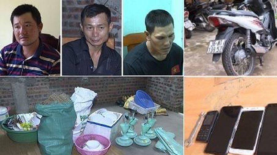 Thanh Hóa: Liên tiếp bắt giữ đối tượng trộm cắp, cướp tài sản