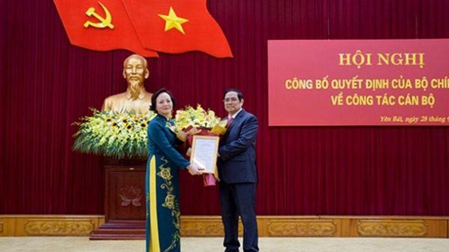 Tân thứ trưởng Bộ Nội vụ Phạm Thị Thanh Trà được điều động làm phó Ban Tổ chức Trung ương
