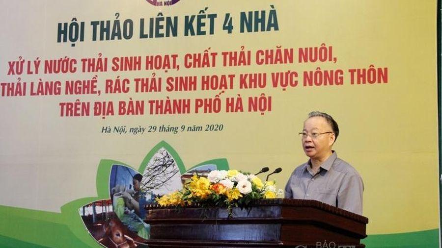 Hà Nội: Liên kết 4 nhà trong xử lý ô nhiễm môi trường nông thôn