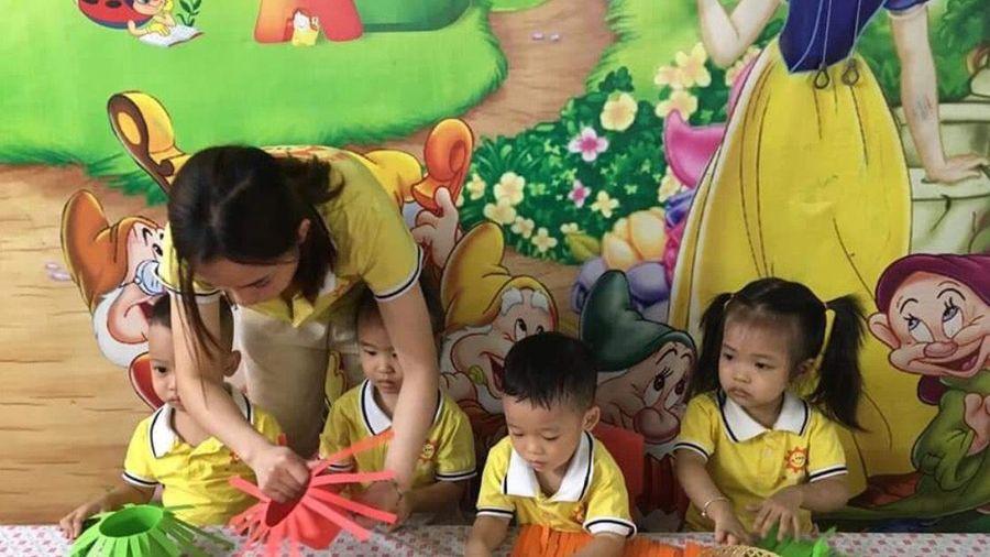 Hà Nội: Tết Trung thu tại Trường mầm non Hoa Hướng Dương