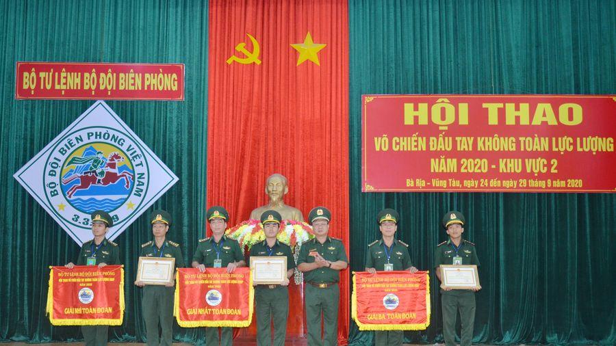 BĐBP tỉnh Bình Phước đoạt giải Nhất toàn đoàn tại Hội thao võ chiến đấu tay không