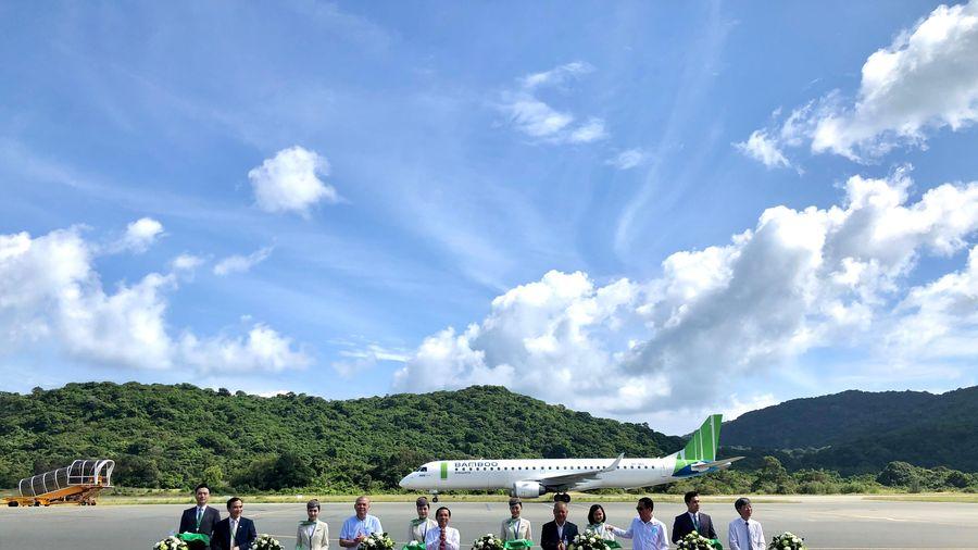 Bamboo Airways khai trương 3 đường bay mới tới Côn Đảo