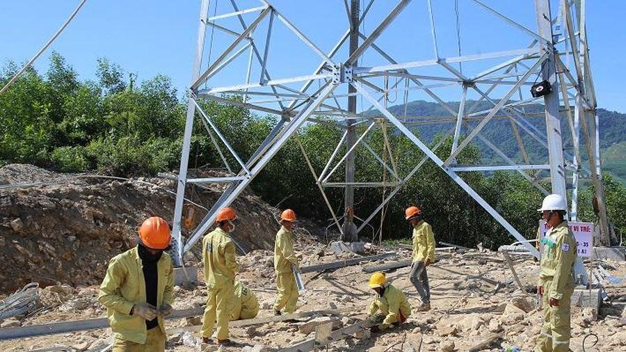 Đường dây 500 kV Dốc Sỏi - Pleiku 2: Phấn đấu hoàn thành đúng tiến độ