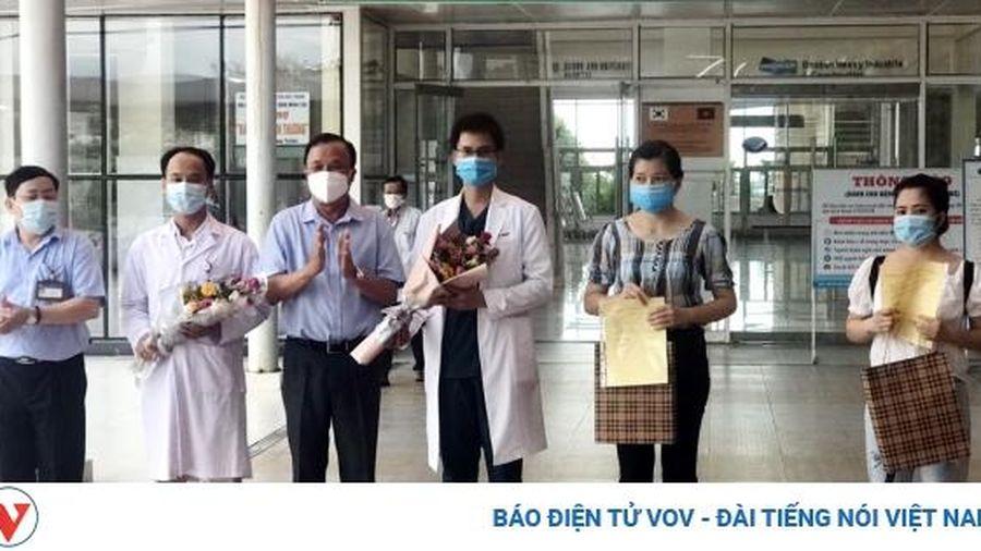 Hai bệnh nhân COVID-19 cuối cùng tại Quảng Nam được chữa khỏi