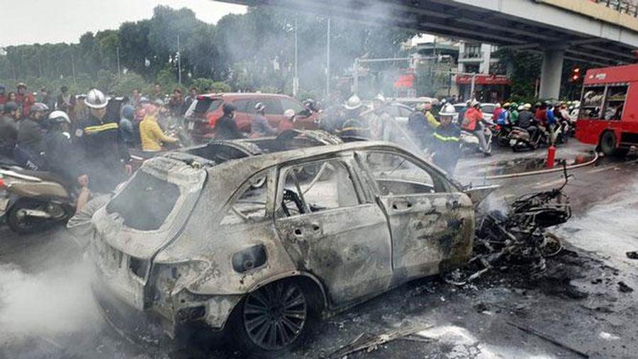 Những lý do khiến ô tô bốc cháy