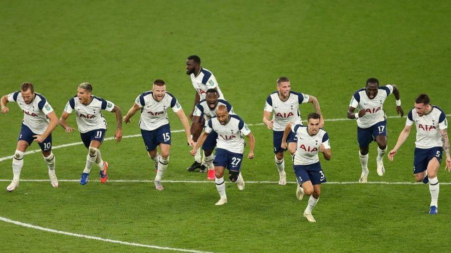 Mourinho cho tất cả 'ăn thịt lừa', Tottenham thắng kịch tính Chelsea để vào tứ kết cúp Liên đoàn Anh