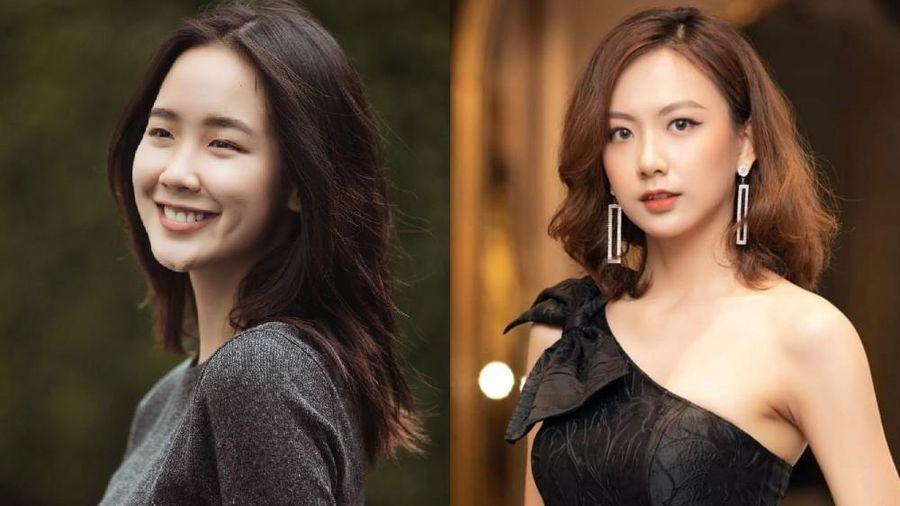 Hai ứng viên xinh đẹp có chiều cao trên 1m80 của Top 60 Hoa Hậu Việt Nam 2020