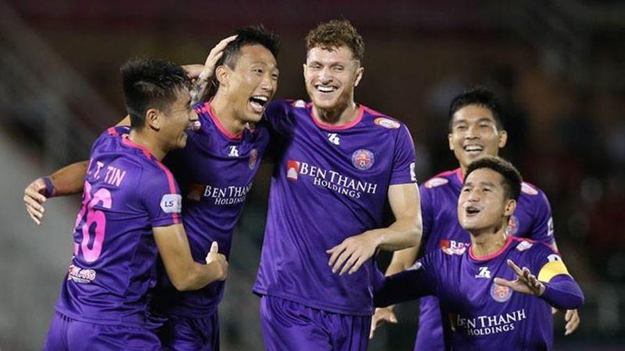 Sài Gòn FC và cuộc chiến với... bầu Hiển