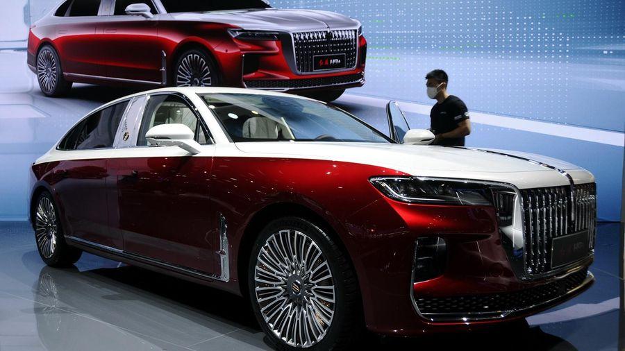 Hongqi H9+ có thiết kế sao chép xe sang châu Âu
