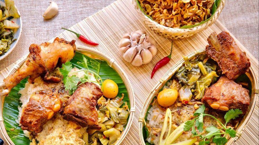 Xôi sườn và loạt món ăn đêm hút khách tại TP.HCM