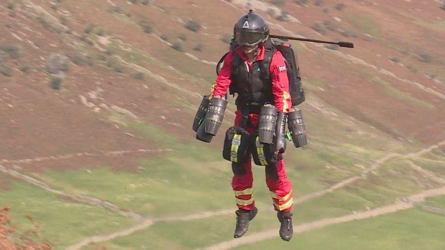 'Người bay' thử nghiệm dịch vụ cứu thương cấp tốc