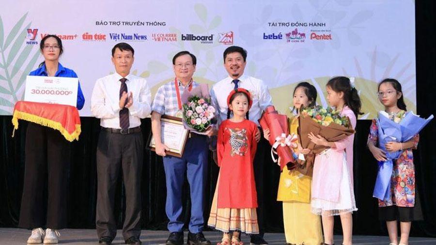 Giải thưởng thiếu nhi Dế Mèn: Tôn vinh sáng tạo vì trẻ em