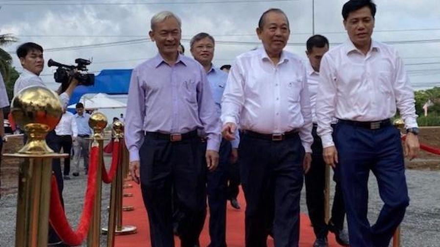 Khởi công cao tốc Phan Thiết - Dầu Giây, kết nối khu vực Đông Nam Bộ