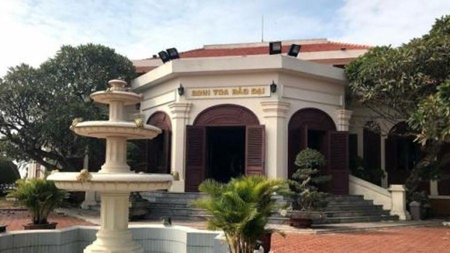 Biệt thự Bảo Đại tại Đồ Sơn được công nhận là điểm du lịch