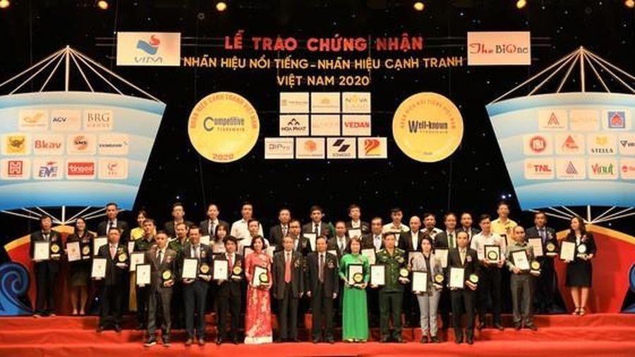 Công ty Sonadezi lọt vào top 50 Nhãn hiệu nổi tiếng Việt Nam năm 2020