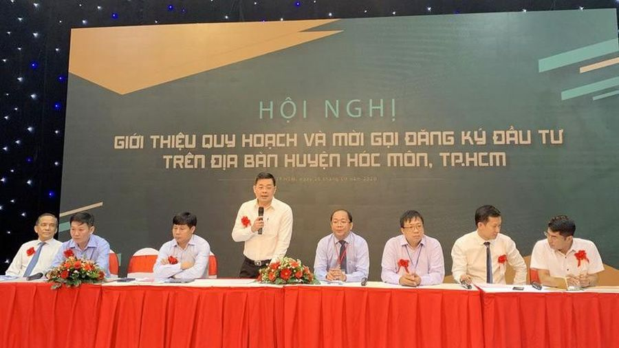 Kêu gọi đầu tư 23 dự án ở Hóc Môn