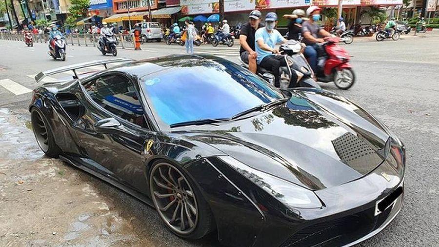 Ferrari 488 GTB độ Liberty Walk hơn 3 tỷ, độc nhất Việt Nam