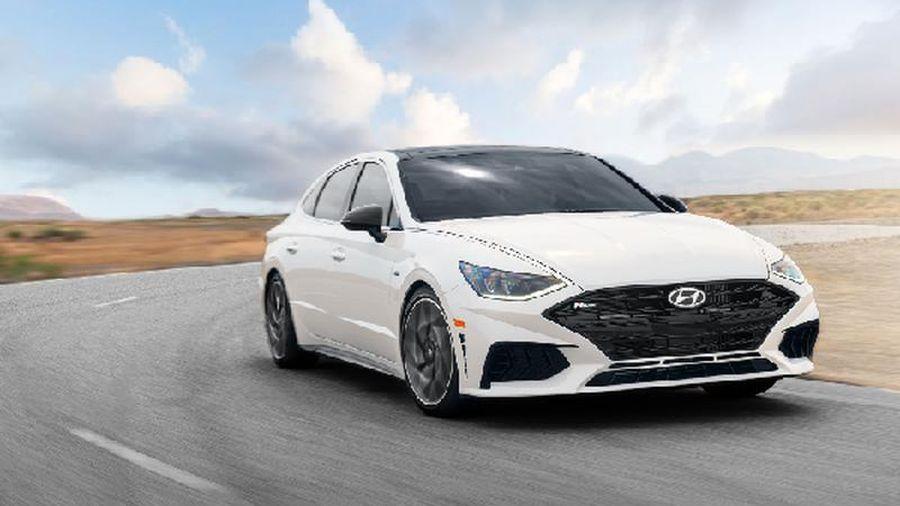 Hyundai Sonata N line 2021 lộ thông số trước ngày ra mắt