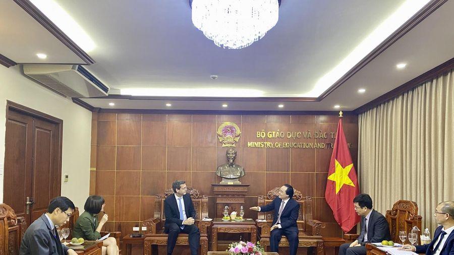 Ưu tiên của Ngành giáo dục Việt Nam phù hợp với những ưu tiên hỗ trợ của ADB