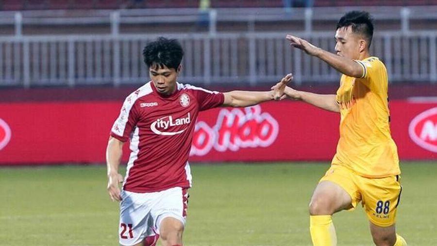 Công Phượng, cầu thủ nội duy nhất vào top 10 cầu thủ ghi bàn tốt nhất V-League 2020