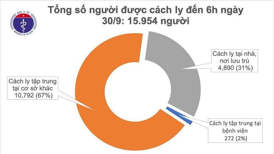 Cả nước có gần 16.000 trường hợp phải cách ly để chống dịch COVID-19