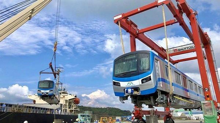 Tàu metro Bến Thành - Suối Tiên chính thức rời Nhật Bản về TP HCM