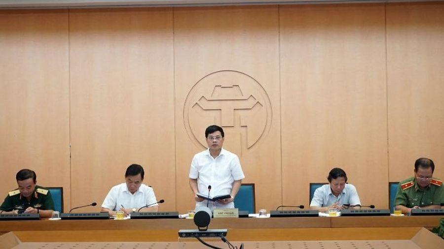 Hà Nội phê bình 6 đơn vị không cử lãnh đạo họp phòng chống dịch Covid-19