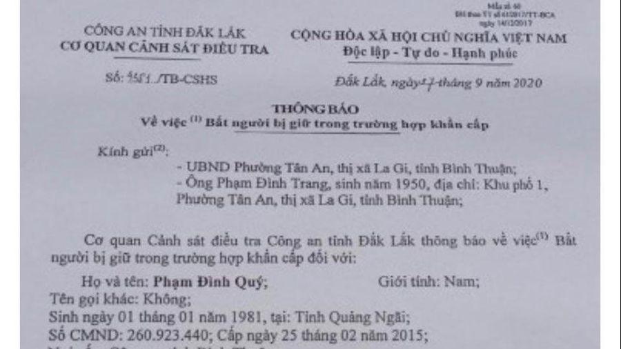 Giảng viên Trường ĐH Tôn Đức Thắng bị bắt khẩn cấp mời luật sư bào chữa