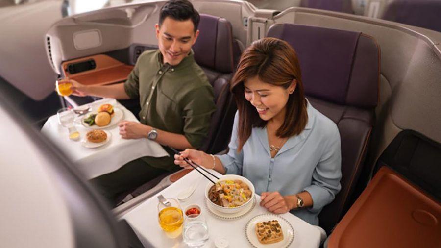 Biến máy bay thành nhà hàng, một phát minh của Singapore Airlines giữa dịch Covid-19