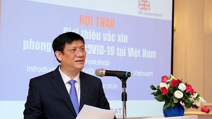 Việt Nam nỗ lực tìm nguồn cung ứng để sớm có vắc xin Covid-19