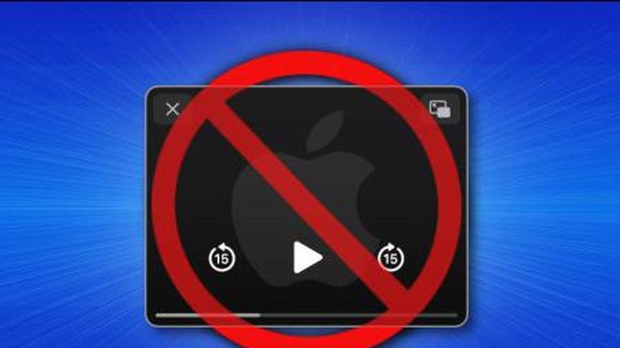 Cách tắt tùy chọn tự động kích hoạt chế độ Picture-in-Picture trên iPhone
