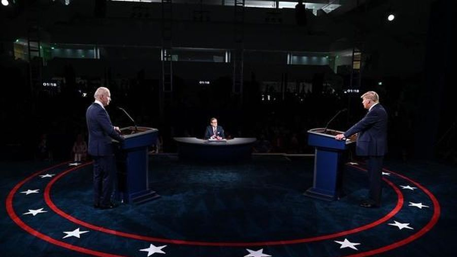 Cảm xúc từ cuộc tranh luận Trump-Biden đầu tiên