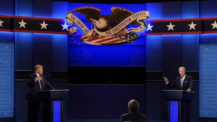 Những khoảnh khắc kịch tích trong cuộc tranh luận Trump - Biden