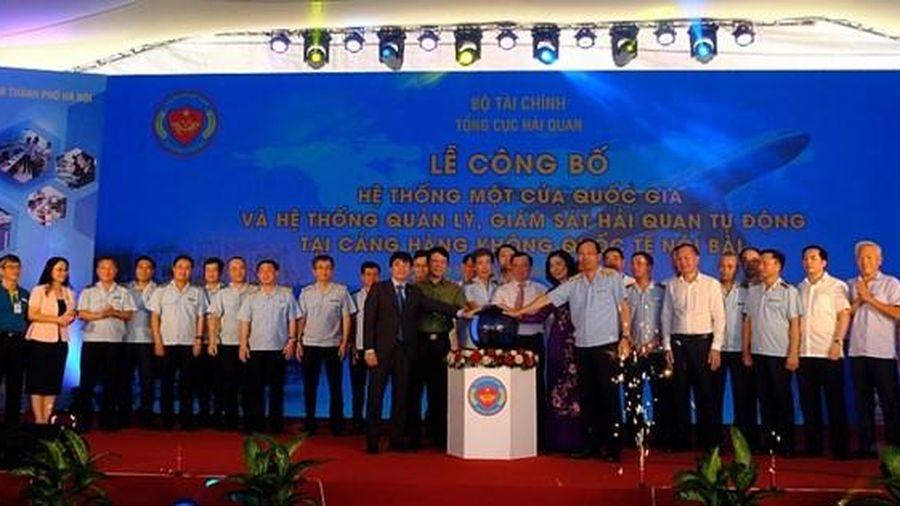 Hệ thống một cửa quốc gia và quản lý giám sát hải quan tự động chính thức vận hành tại Nội Bài