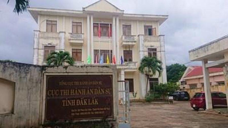 Vì sao Cục trưởng Cục Thi hành án dân sự Đắk Lắk bị kỷ luật cảnh cáo?