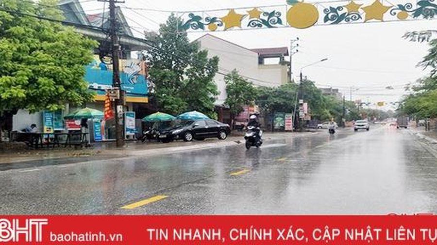 Hôm nay, Hà Tĩnh tiếp tục mưa rào và dông vài nơi, nhiệt độ cao nhất 31-34 độ C