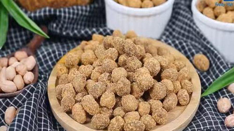 Mê tít món đậu phộng lắc phô mai