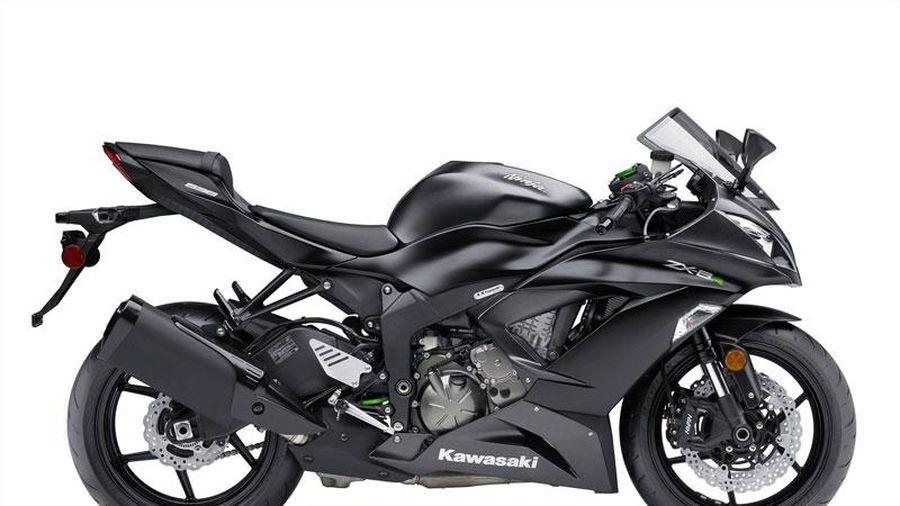 Top 10 môtô nhanh nhất trong tầm giá dưới 10.000 USD: Kawasaki Ninja ZX-6R không đối thủ