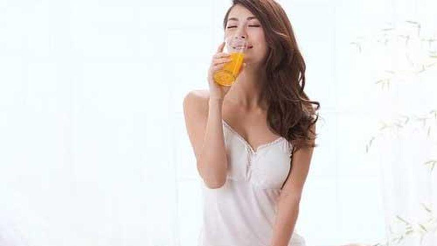 Chỉ cần uống 1 cốc nước này trước khi đi ngủ, mỡ thừa giảm nhanh, U50 có thể trẻ ra như 18 ngay sau 1 tuần