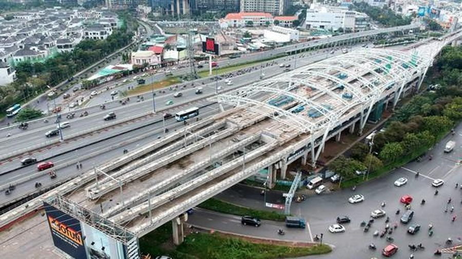 Mạng tuyến metro đang từng bước hình thành